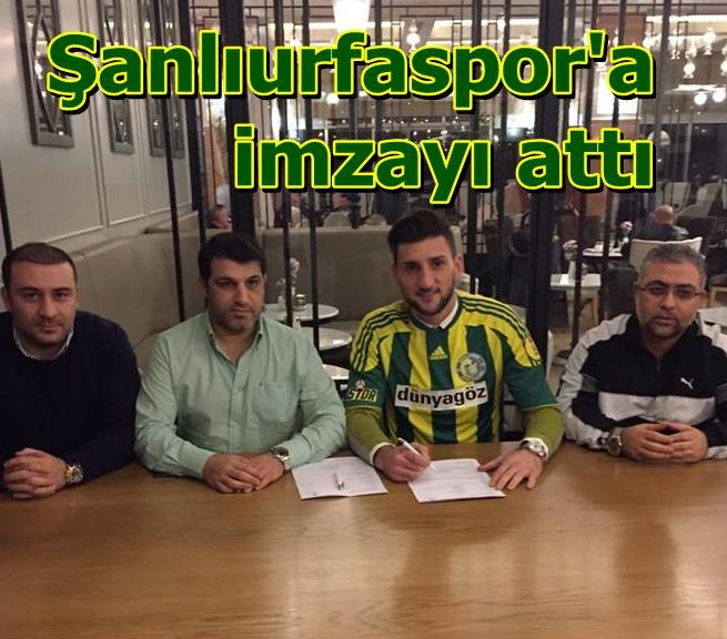 Eldin Adiloviç Şanlıurfaspor'a imzayı attı