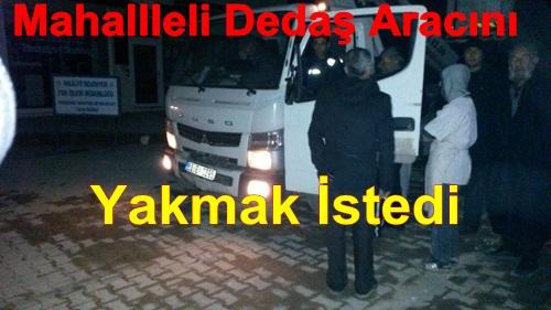 Mahalle Halkı Dedaş Aracını Alıkoydu