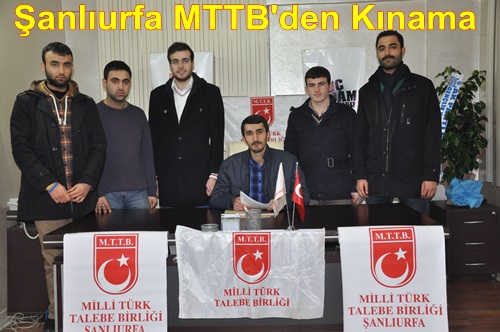 Milli Türk Talebe Birliği (MTTB)den Kınama-VİDEO