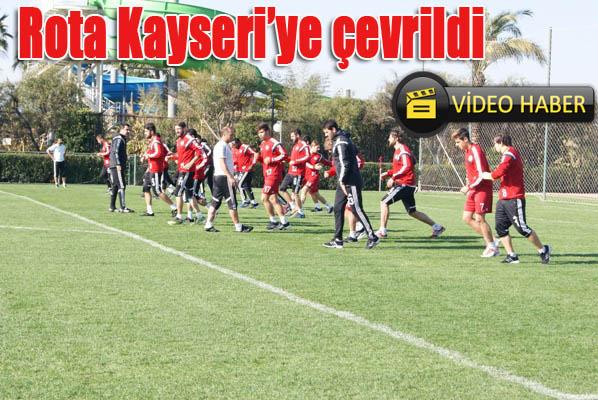 Şanlıurfaspor'da rota Kayseri'ye çevrildi