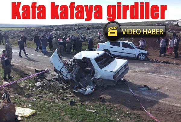 Siverek'te feci kaza: 4 ölü, 5 yaralı