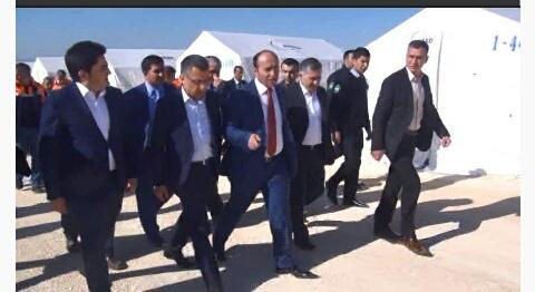 Suruç'ta yeni bir Kobani Kuruldu: 35 bin kişilik çadırkent