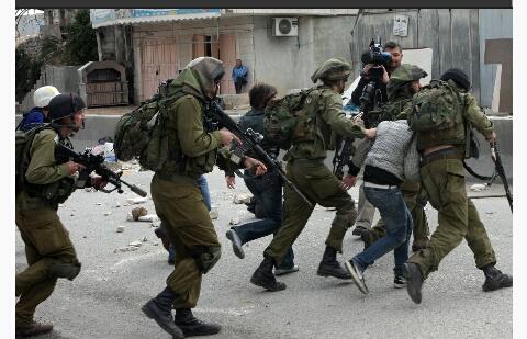 İsrail 2014'te 5 bin 824 Filistinliyi tutukladı
