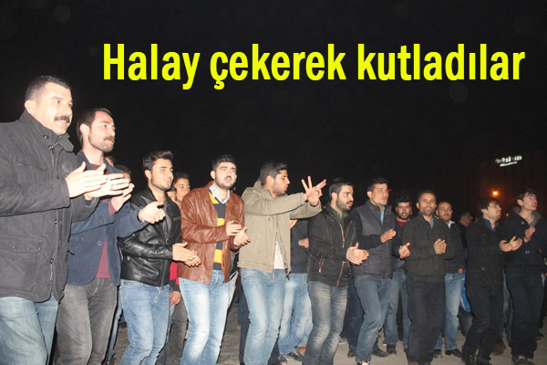 Rabia Meydanında YPG'nin Zaferi Kutlanıyor