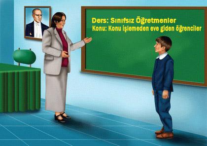 Urfa'da Sınıflar Öğretmensiz, Gelenler Kaçıyor..