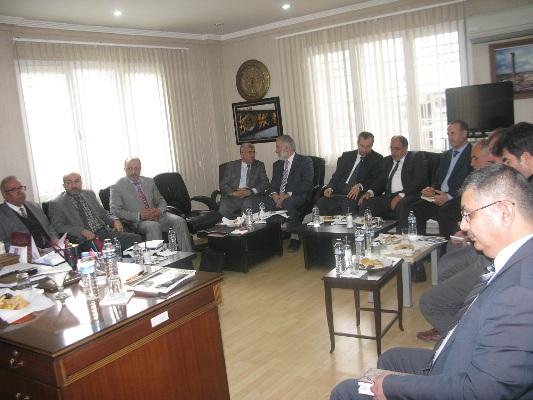 Urfa ilçe müftüleri toplantısı Birecik'te yapıldı