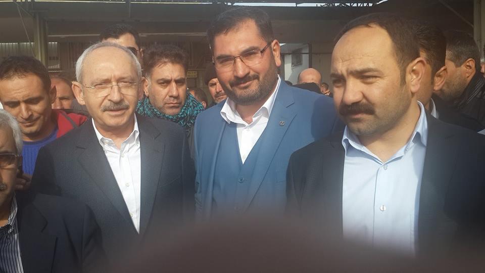 Kemal Kılıçdaroğlu'nun Urfa'da ilk durağı ŞUTİM oldu