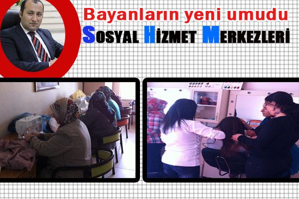 Ceylanpınar'da Bayanlara Meslek kursları açıldı