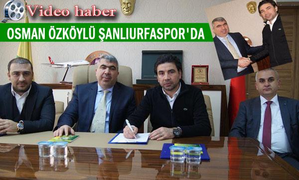 Şanlıurfaspor Teknik Direktörü Özköylü'den ilk mesaj