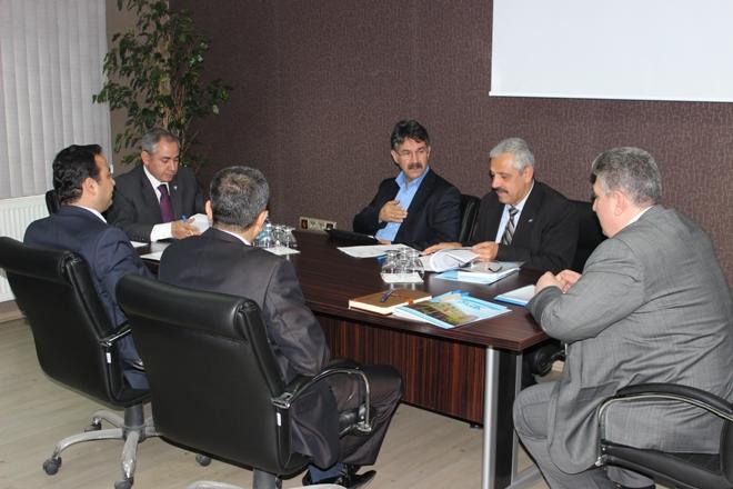 Bölge SGK Müdürleri Urfa'da Toplandı