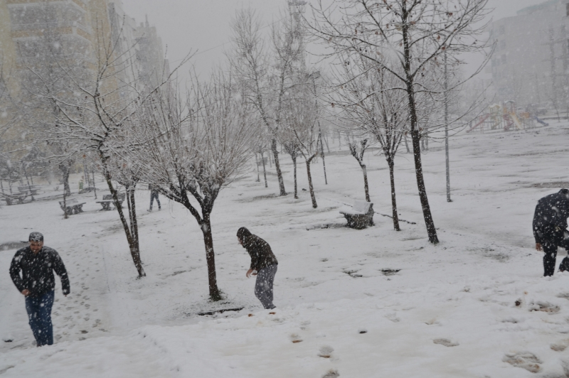Kar Viranşehir'de de etkili oldu