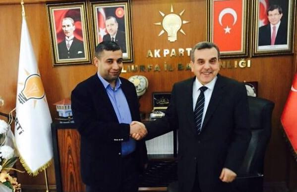 Viranşehir'den güçlü aday; Celalettin Sayan