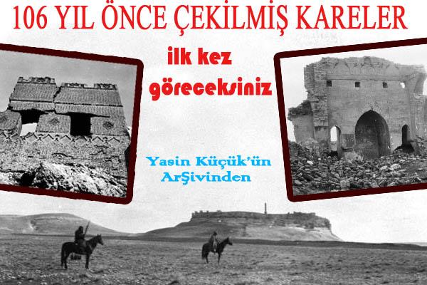 Süleyman Şah Türbesi nedir? 1909 yılına ait fotoğrafları...