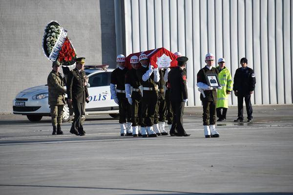 Süleyman Şah Oprasyonunda Şehit olan asker uğurlandı