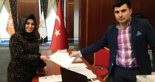 AK Parti Urfa Milletcekili aday adayı Dilek Çiftçi iddialı