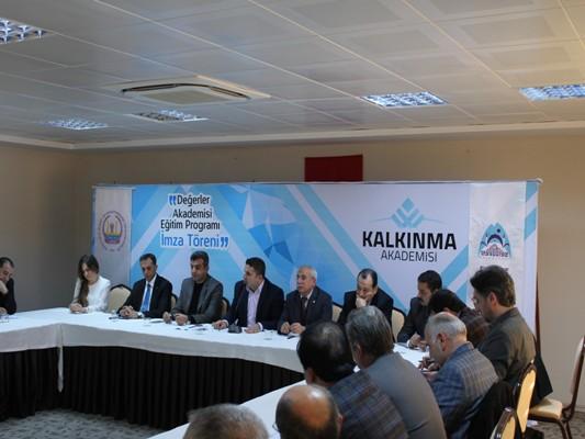 KALKINMA AKADEMİSİ'NDEN ÖRNEK PROTOKOL