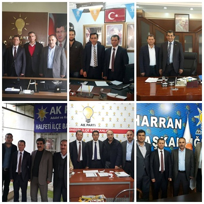 Mustafa Yavuz İlçe Teşkilatlarını Ziyaret Etti