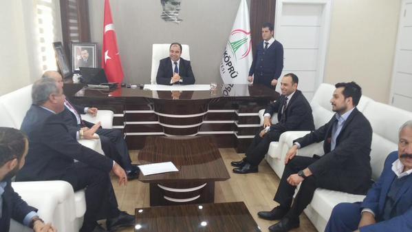 Aday Adayı İbrahim Toru, Teşkilat ve Belediyeleri Ziyaret Etti