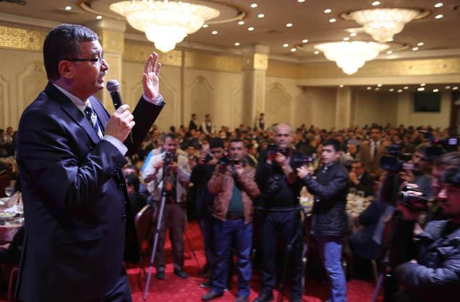 'Bu Seçimin Ana Aktörü Milletin Kalbinden Çıkan Ak Parti'dir'