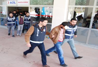 Urfa'da kasa hırsızları yakalandı VİDEO