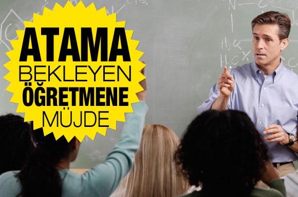Öğetmen Adaylarına Müjde, 47 bin Öğretmen atanacak