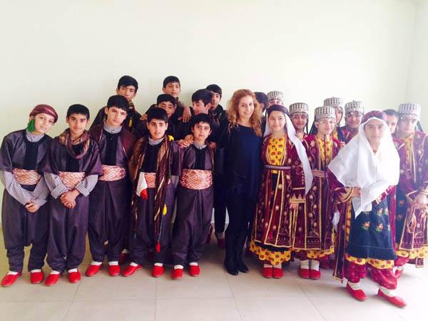 Halk oyunlarıda Şanlıurfa'da birinci oldular