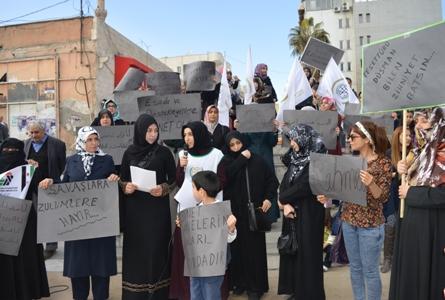 'Suriyeli kadınlara yapılanlar insanlık suçudur'
