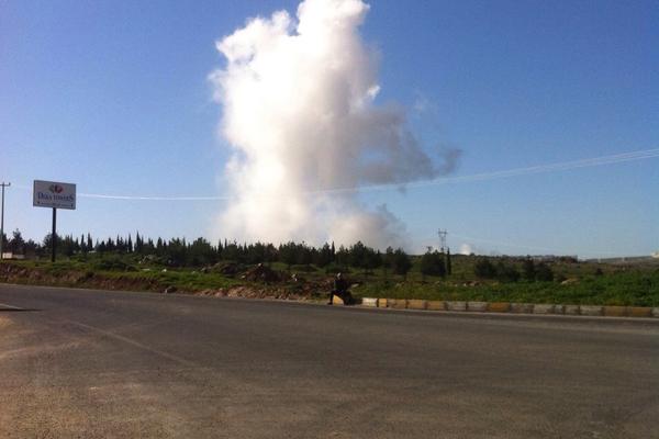 Şanlıurfa'da Tugayında korkutan patlama