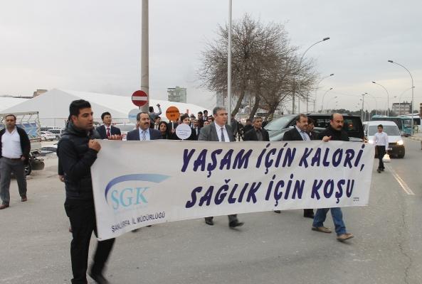 SGK'dan Malnütrisyon hastalığına karşı sağlık yürüyüşü