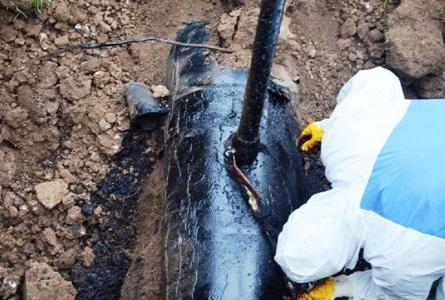 Boru hattından petrol hırsızlığı