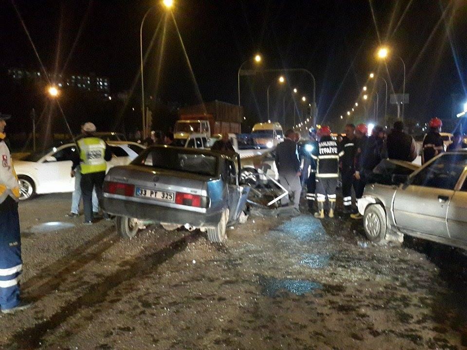 TOKİ'de feci kaza: 5 yaralı