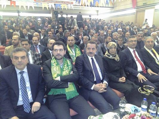 AK Parti Gençlik Kolları Kongresi Yapıldı