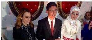 PKK'dan ayrılan Toy evlendi, Davutoğlu tebrik etti