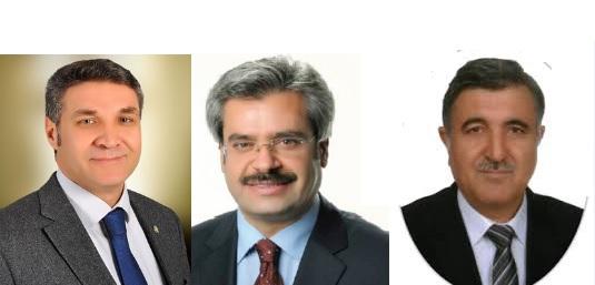 Harran rektörlüğü için Ekinci, Taşaltun ve İriadam Erdoğan sunuldu