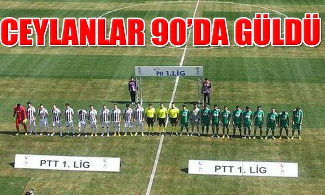 Manisaspor-Şanlıurfaspor: 1-2