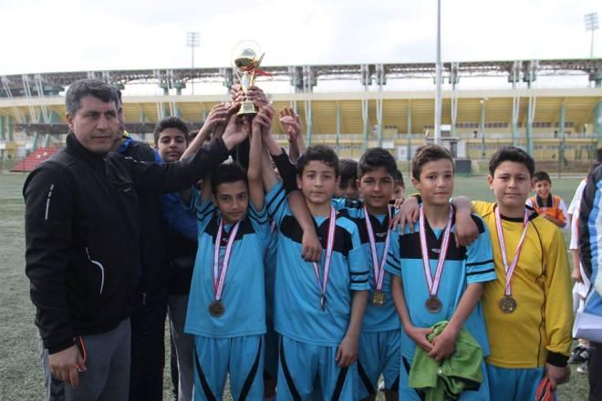 Okullararası 2014-2015 futbol turnuvası sona erdi