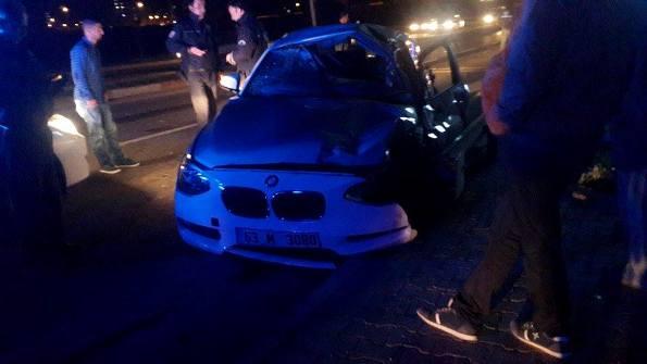 Karaköprü'de trafik kazası meydana geldi