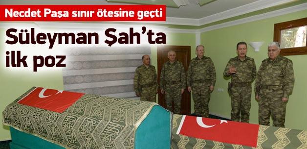 Özel 'Süleyman Şah'ı ziyaret etti