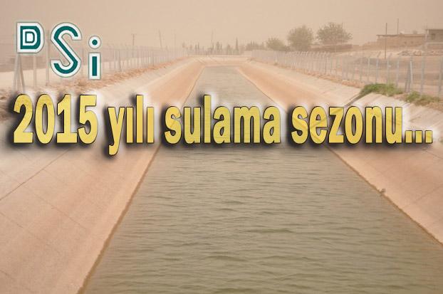 Urfa DSİ Müdürlüğünden Sulama Açıklaması