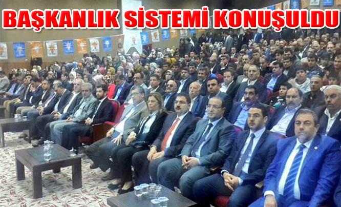 AK Parti Mart Danışma Meclisi Toplantısında Başkanlık konuşuldu