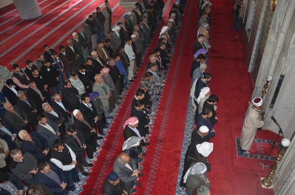 Urfa'da Savcı Kiraz için gıyabi cenaze namazı kılındı