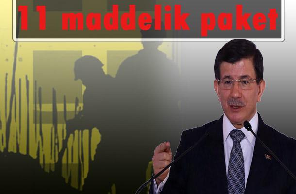 Davutoğlu İstihdam teşvik paketini açıklandı