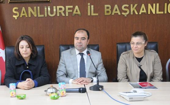 Karaköprü Belediye Başkanı Çiftçi'den Kadın Kolları Başkanı Göncü'ye ziyaret VİDEO