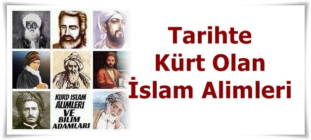 Tarihte Kürt Olan İslam Alimleri