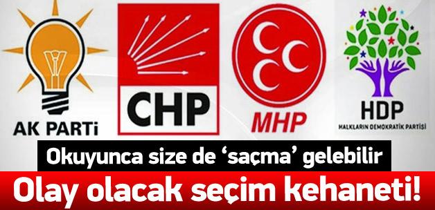 2015 genel seçimi AK Parti olay kehaneti!