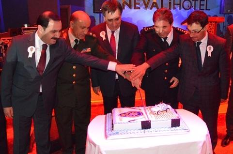 Urfa'da Polis 170. yıl resepsiyonu düzenledi