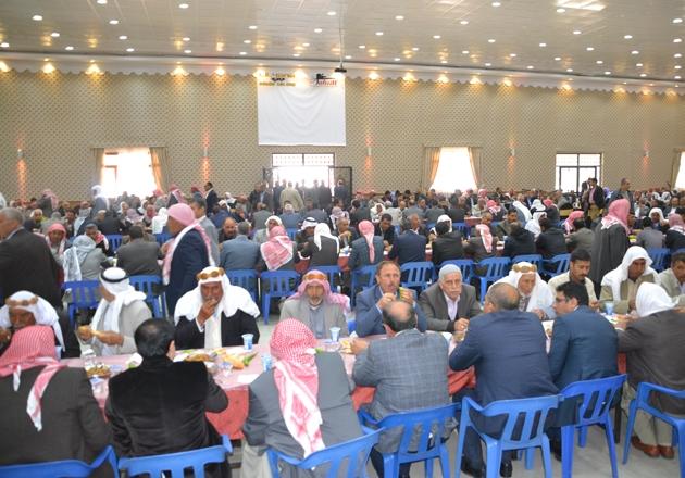 Viranşehir'de barış yemeği verildi