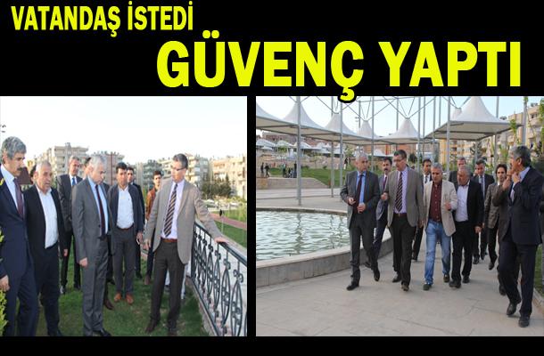 Turgut Özal parkında halkın istediği oldu VİDEO