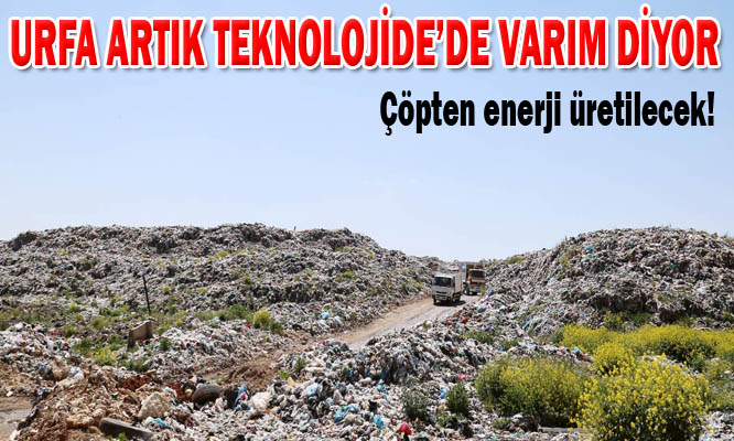 Şanlıurfa'da çöpten enerji üretilecek VİDEO