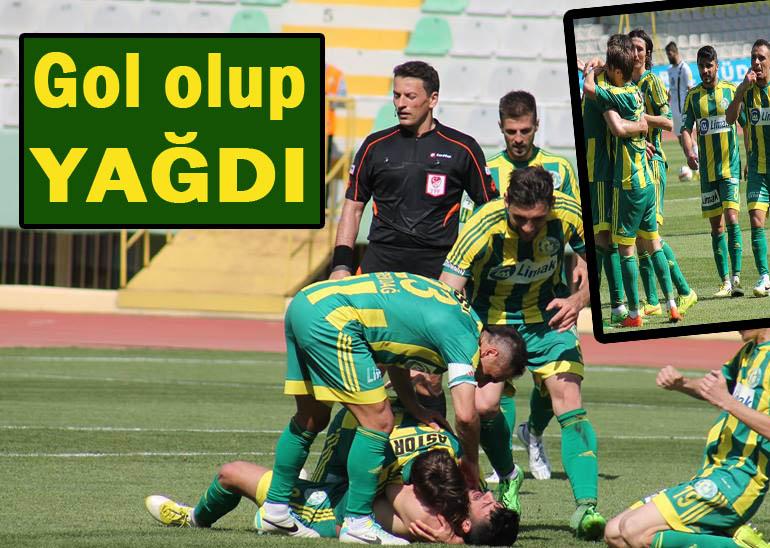 Şanlıurfaspor Bucaspor'u 4-0 Mağlup Etti